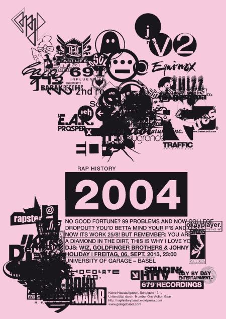 Rap History Basel 2004